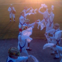 Jockey Dancing on The Lickey Hills - Sunrise on May 1st 2013