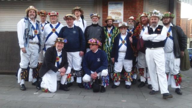 Jockey in Birmingham Straat, Brussels - May 2016
