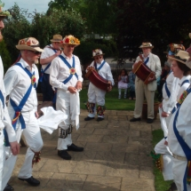 Preparing to Dance at Dancing at The Mary Arden in Wilmcote