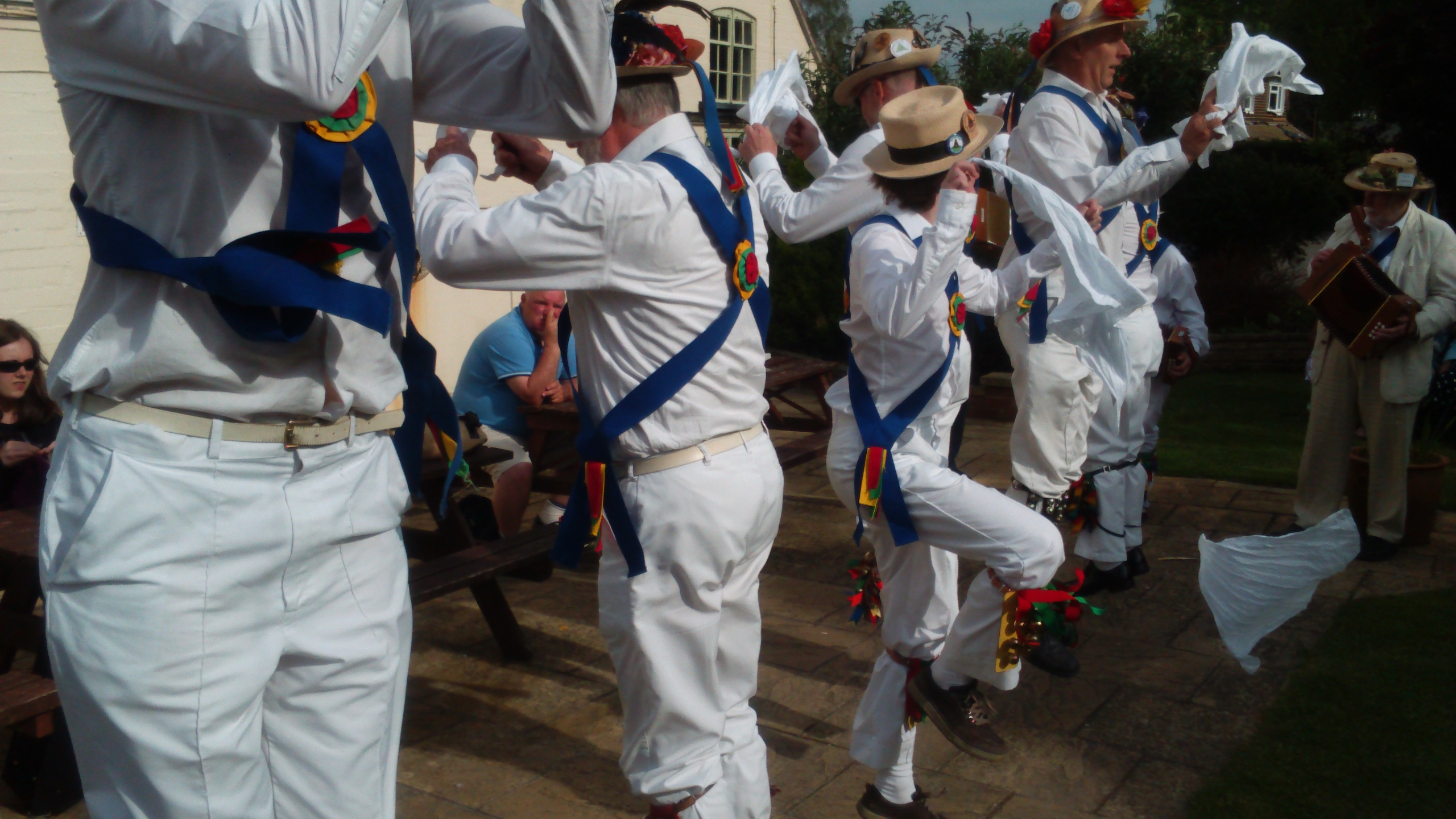 Dancing at The Mary Arden in Wilmcote