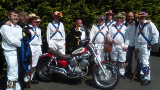 Jockey with the Hairy Bikers in Bromsgrove