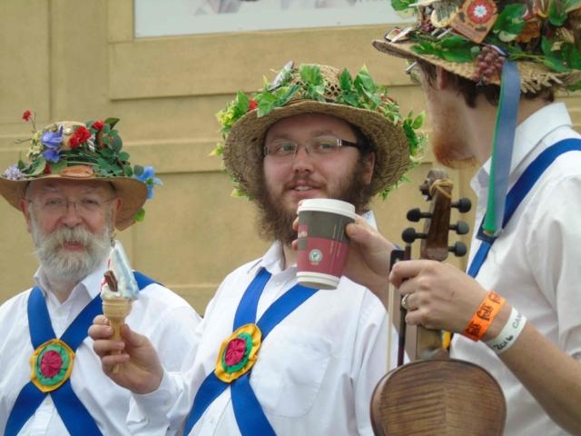 Cleckheaton Folk Festival 2016 - Ice Cream
