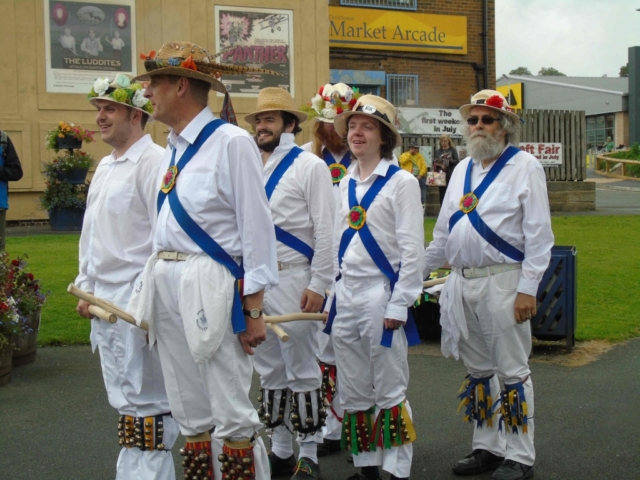 Cleckheaton Folk Festival 2016 Young Team