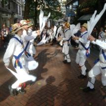 Dancing on New Street - October 2016