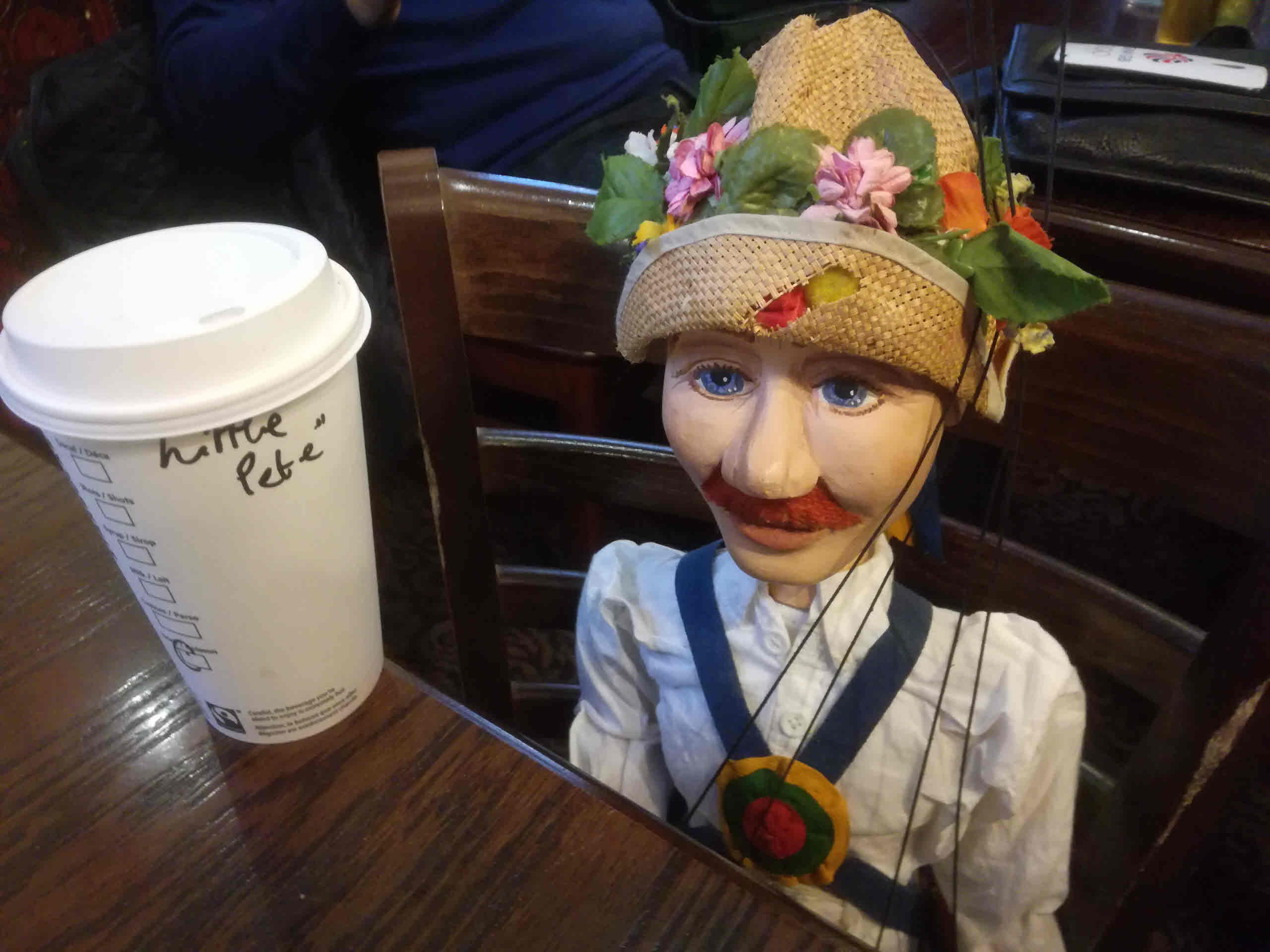 Little Pete Ordered a Coffee on the Tour - October 2016