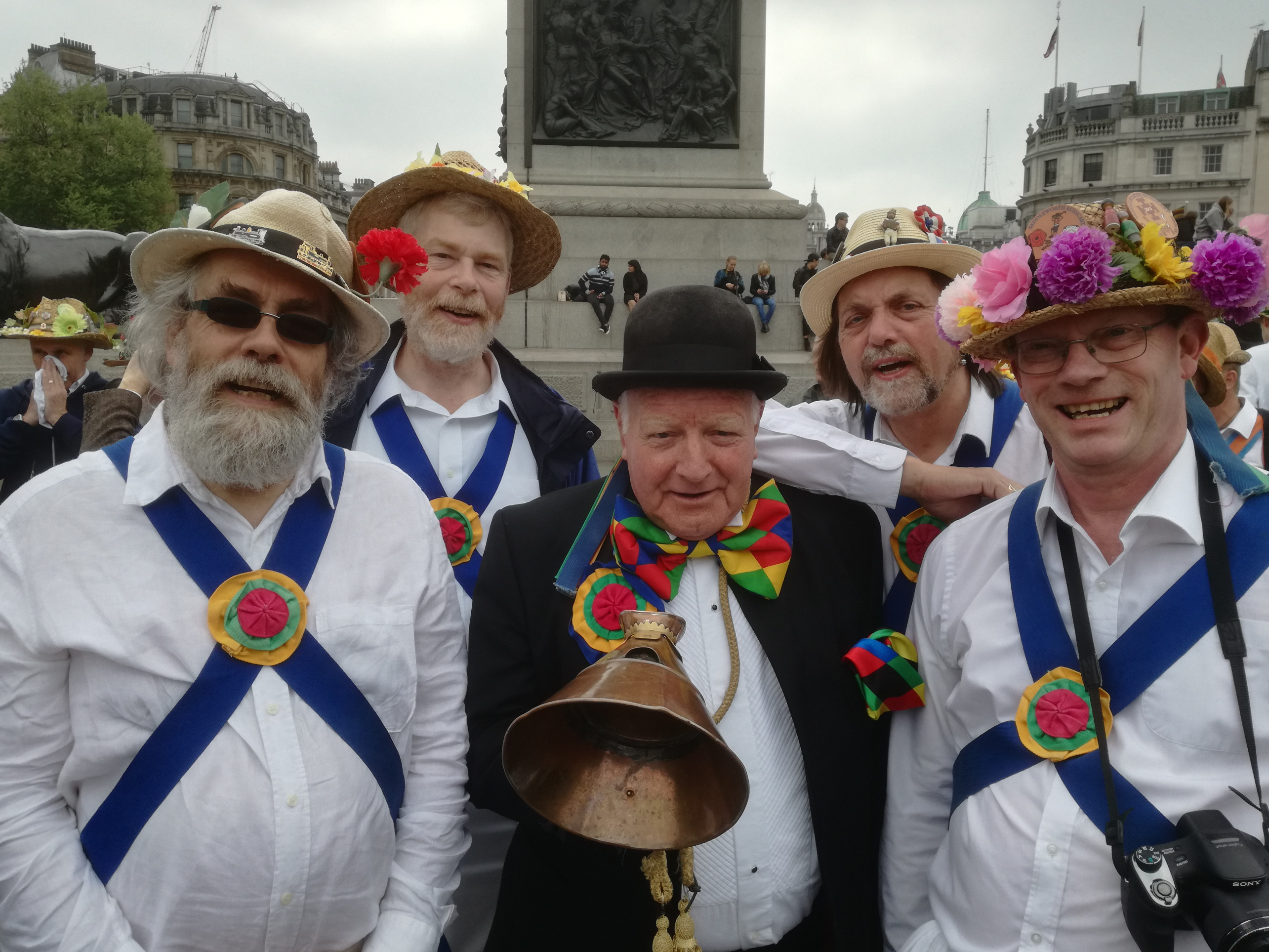 Jockey in Trafalgar Square - Westminster Day of Dance 2017