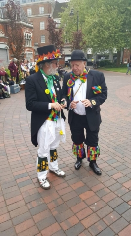 The Jockey Fool at the JMO event - Leicester 13th May 2017