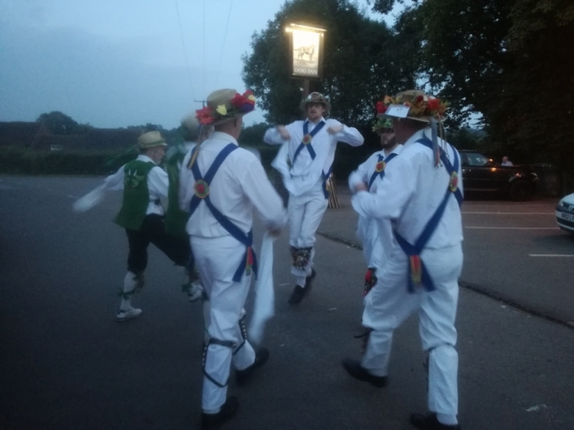 Dancing with Anker Morris - The Dog - Nether Whitacre
