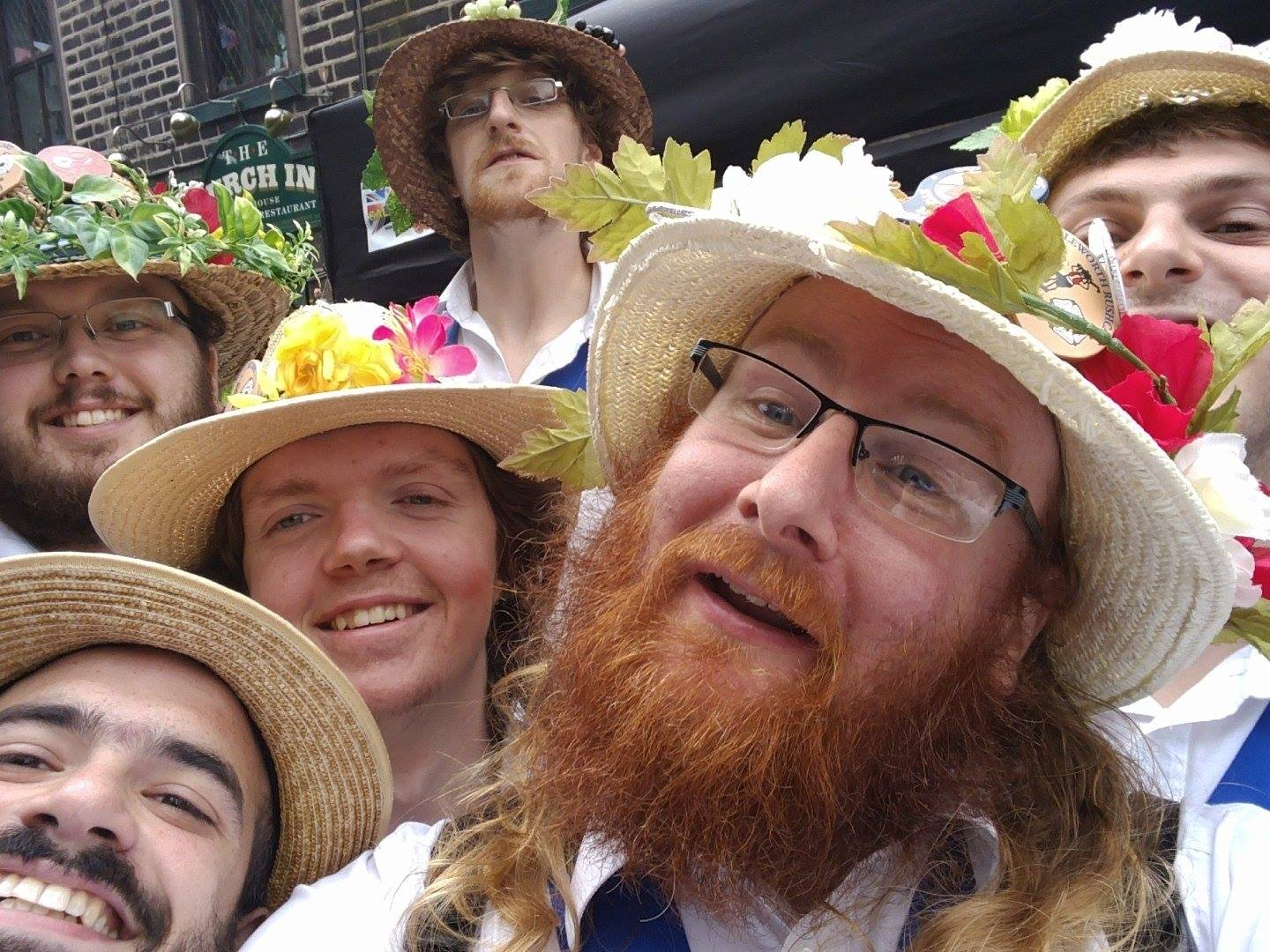 The Youth at Saddleworth Rushcart in 2016