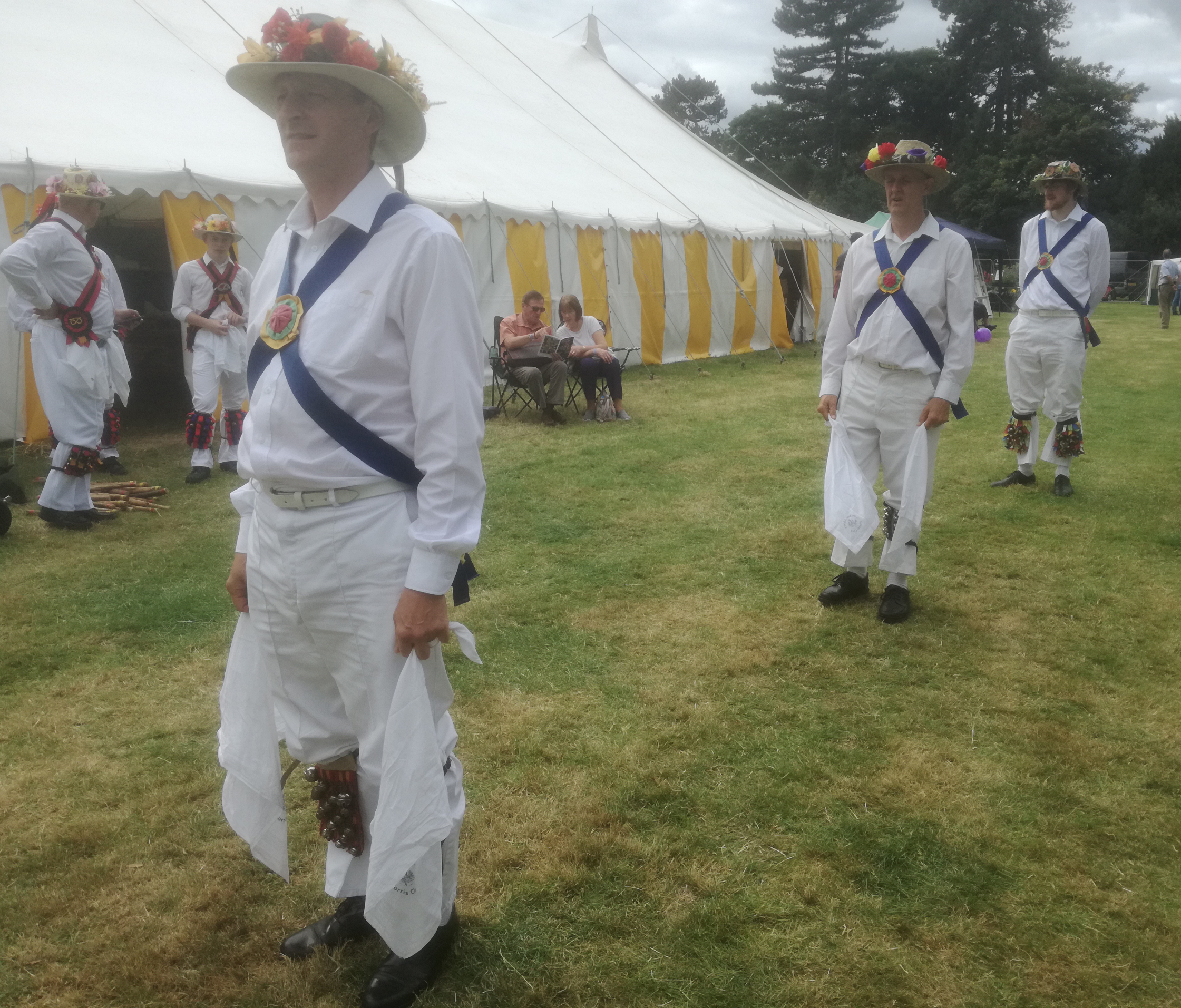 At Canwell Show with Stafford Morris Men - 12th Aug