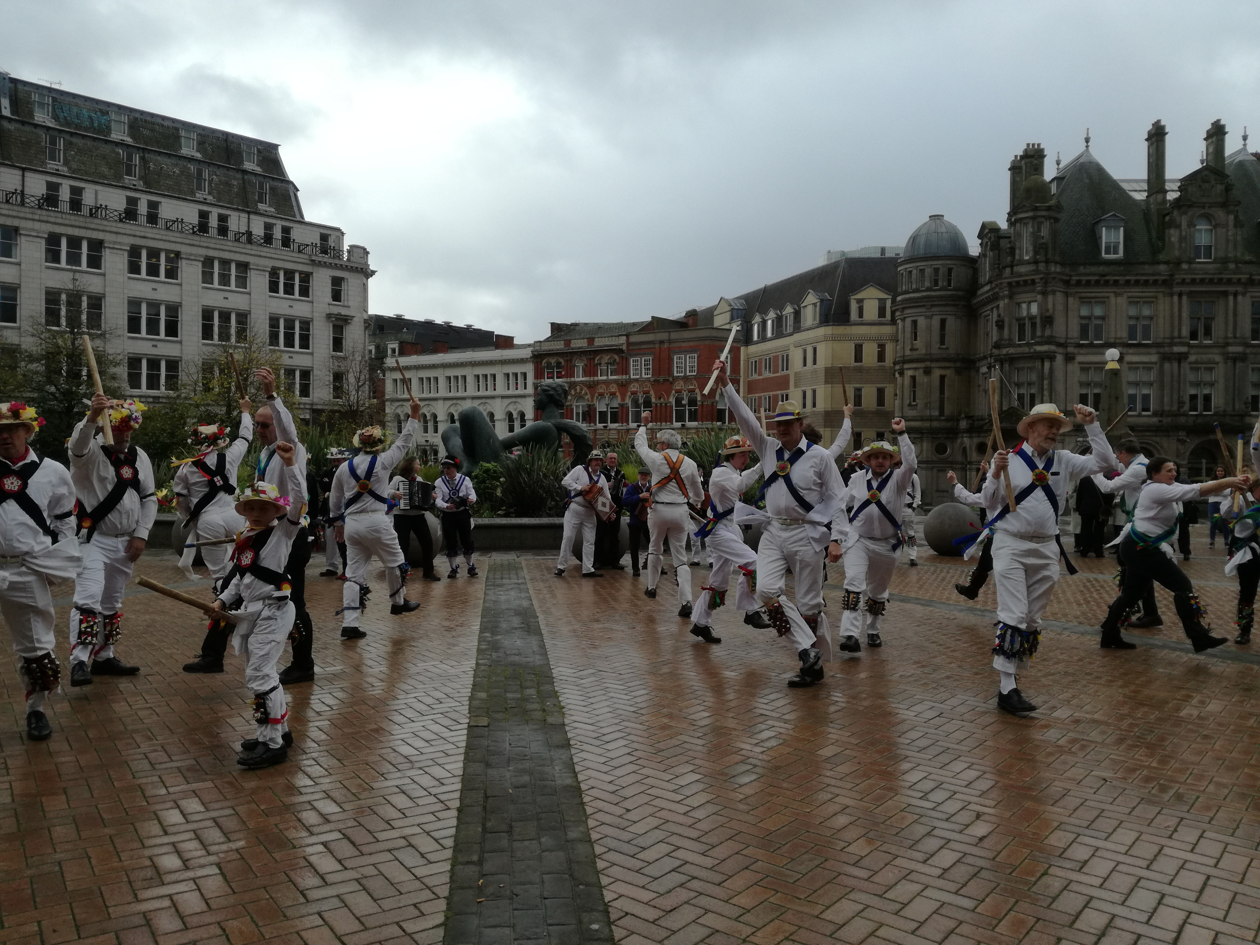 The Start of our Annual Day of Dance - Victoria Square