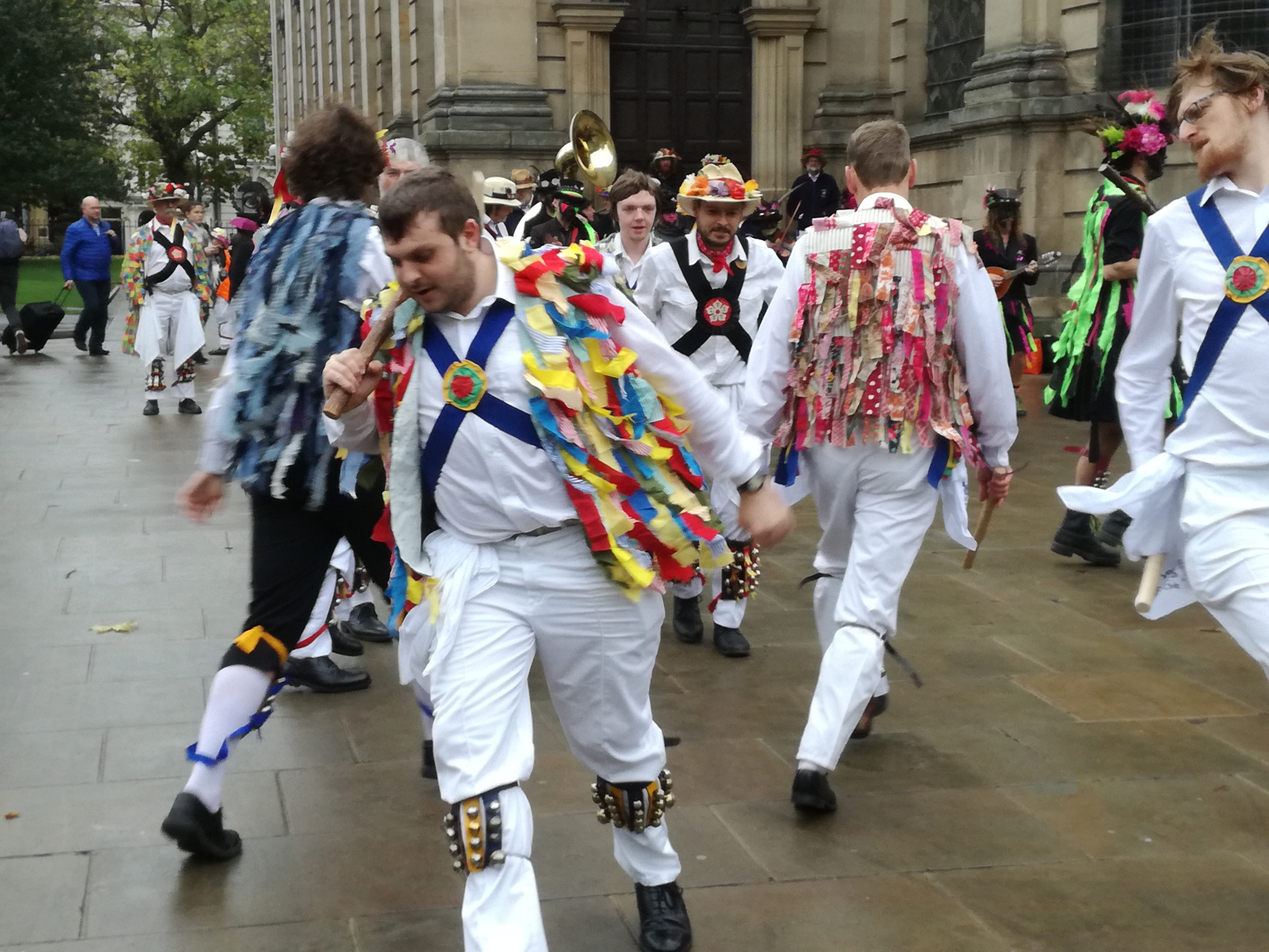 Annual Day of Dance - Border Dancing in The Cathedral Grounds