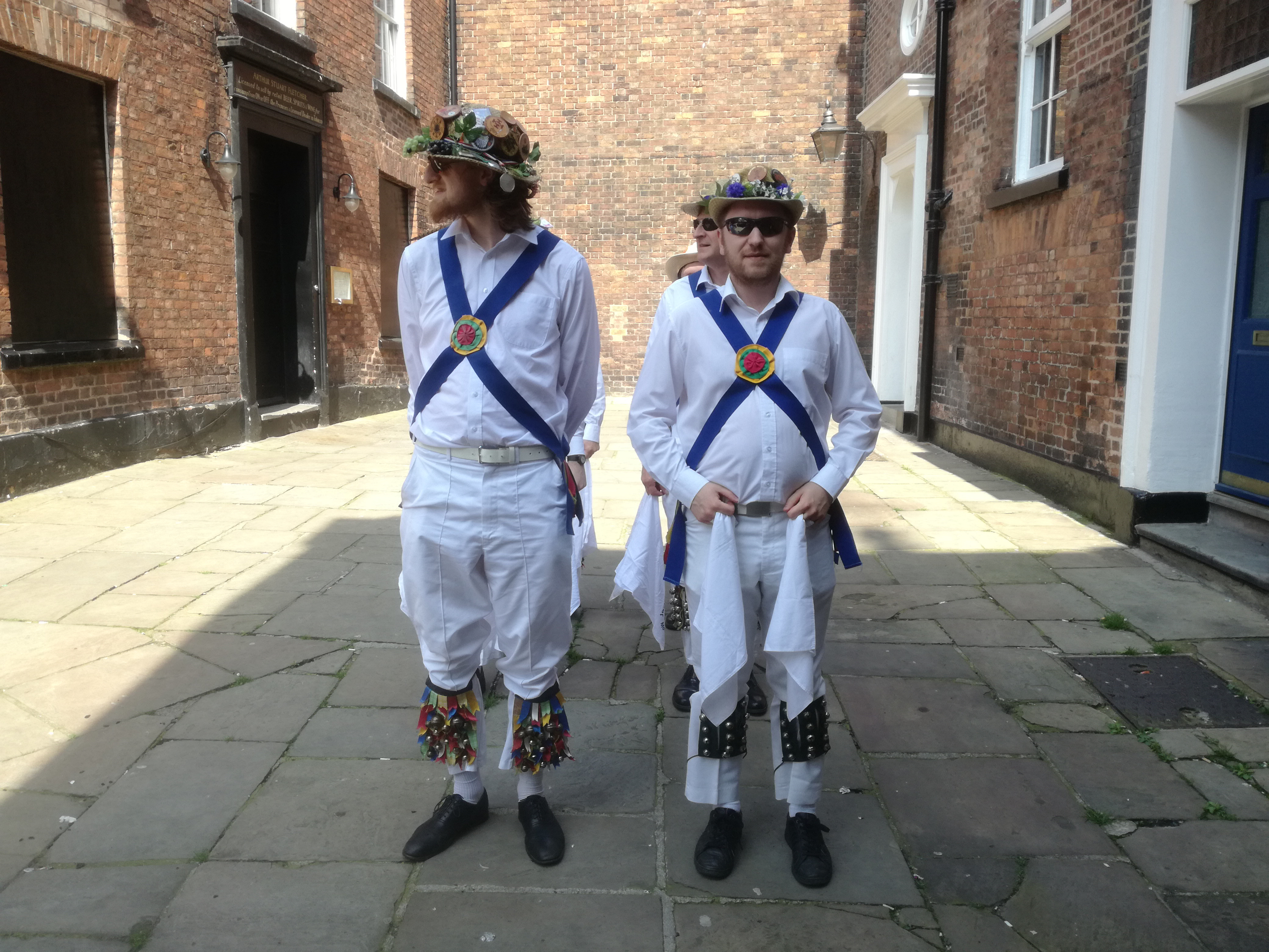 Waiting to Dance in Chester - April 2018