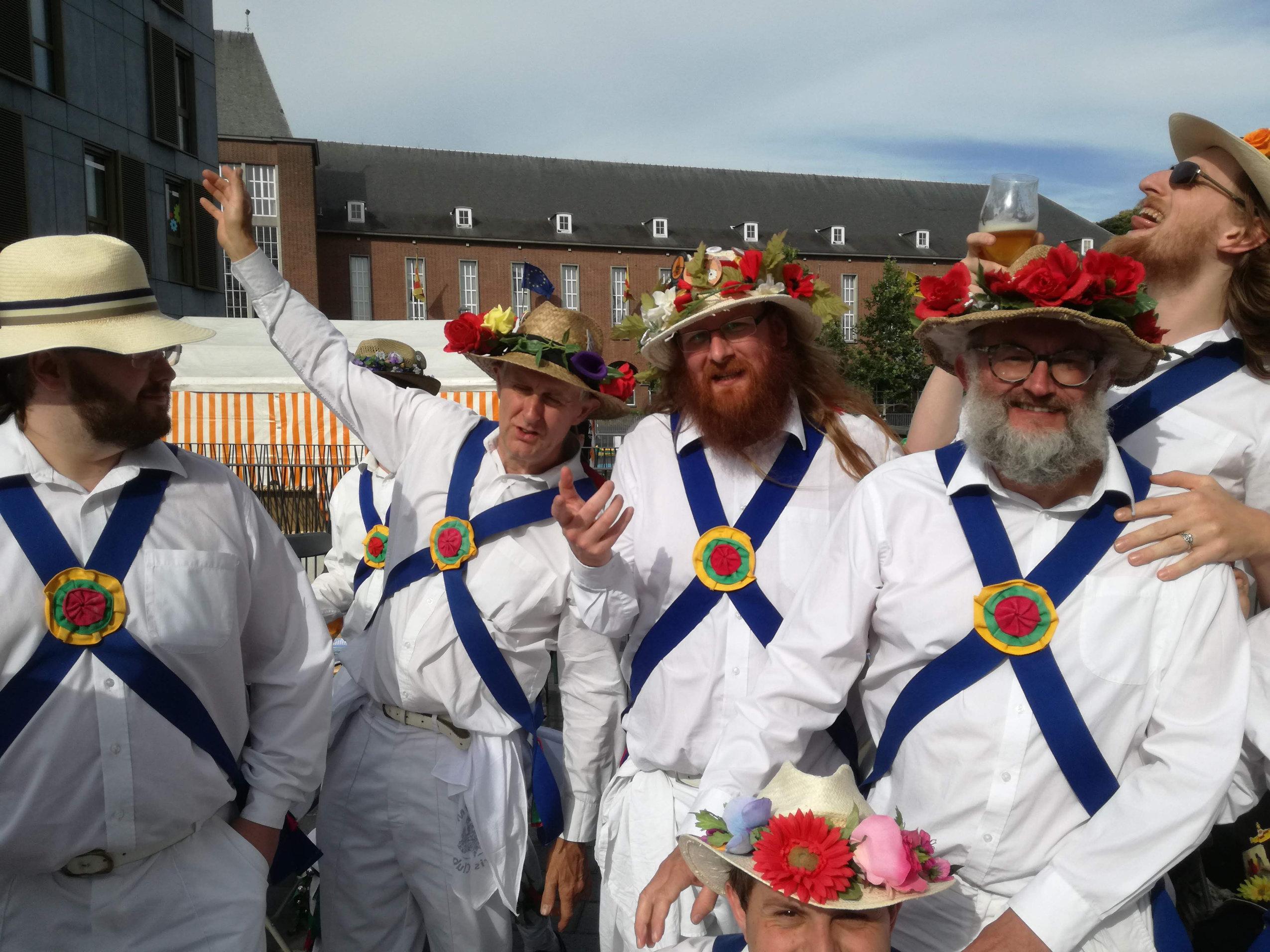 Socialising in Mortsel - Flanders