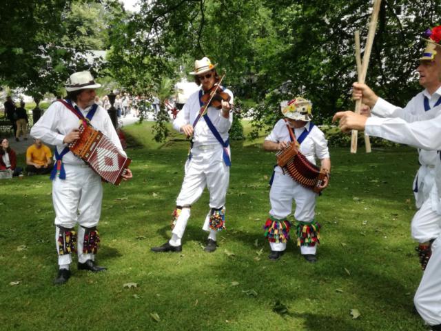 Part of the Jockey Band at Parkfeesten