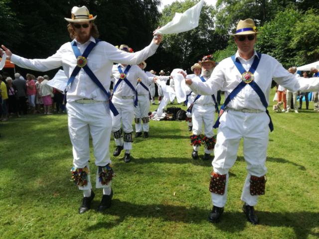 Dancing at Parkfeesten in Sterrebeek