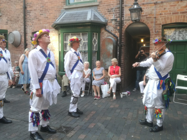 """Dancing to """"The Firey Clockface"""" at """"The Back to Backs"""" - Birmingham 19th July 2018"""