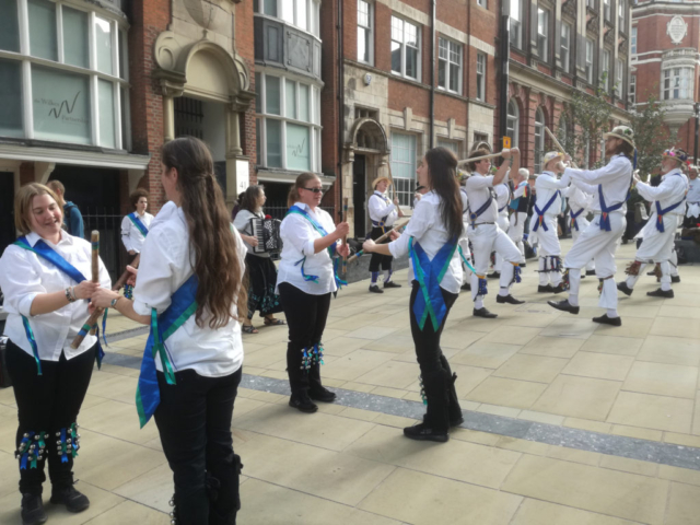 The 2018 Tour - Dancing with Waters Green from Macclesfield