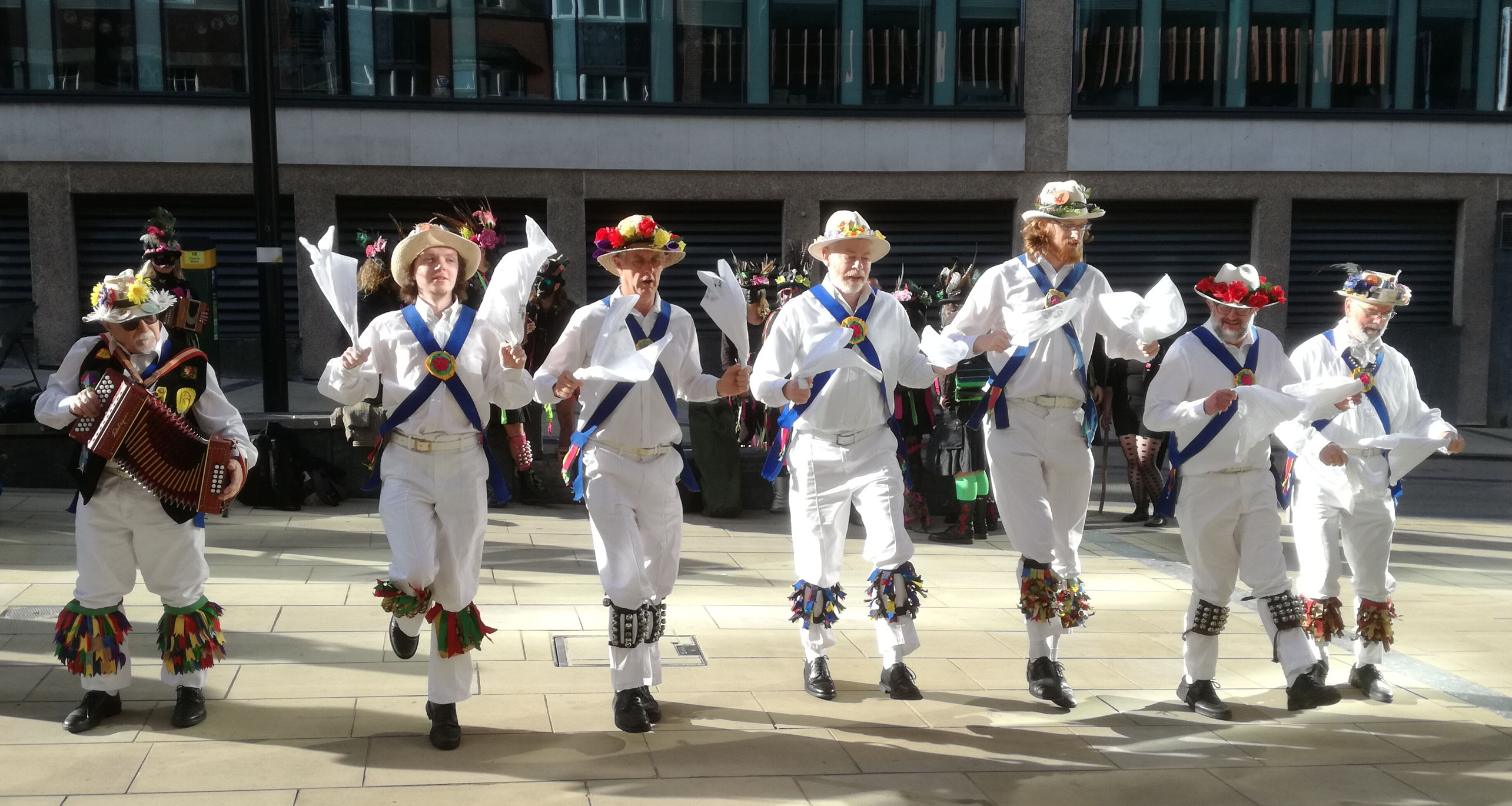 The 2018 Tour Dancing Jockey to the Fair Brackley at the Second Dance Spot