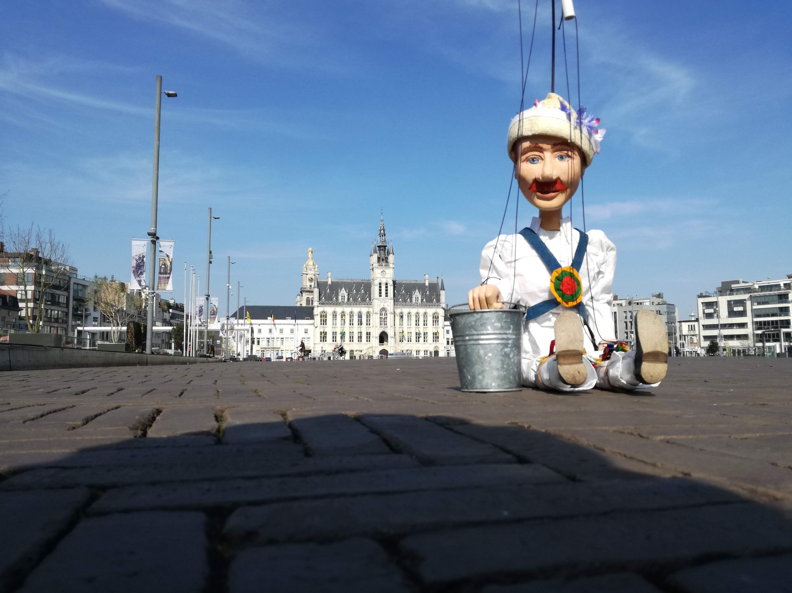 Little Pete in The Market Square in Sint Niklaas