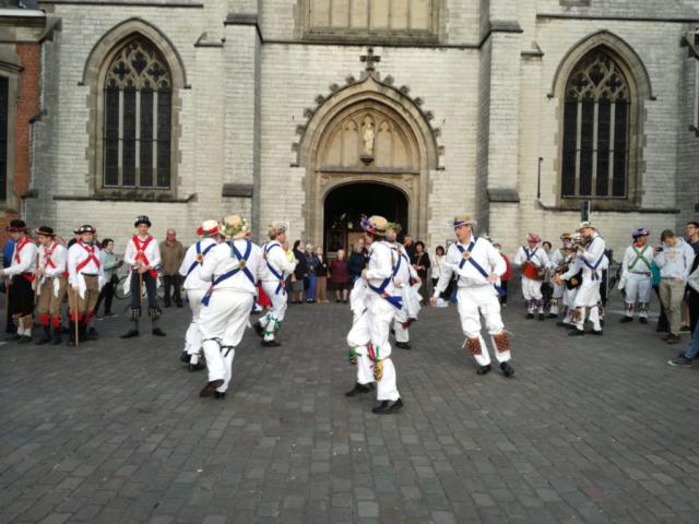 Dancing in Sint Niklaas