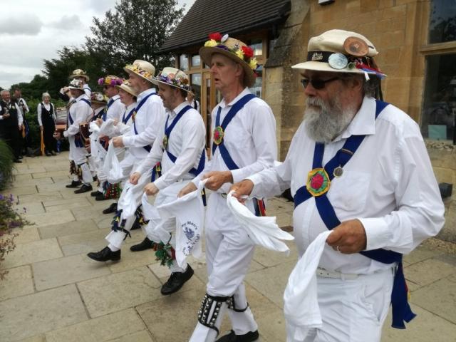 "Dancing ""Jockey to the Fair"" Brackley - in Illmington"