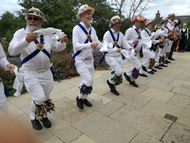 Dancing at the community centre - Ilmington