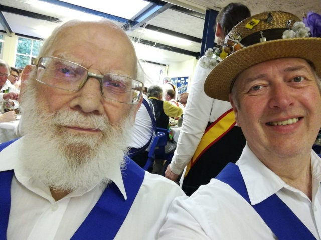Bill K and Fiddler at The Feast