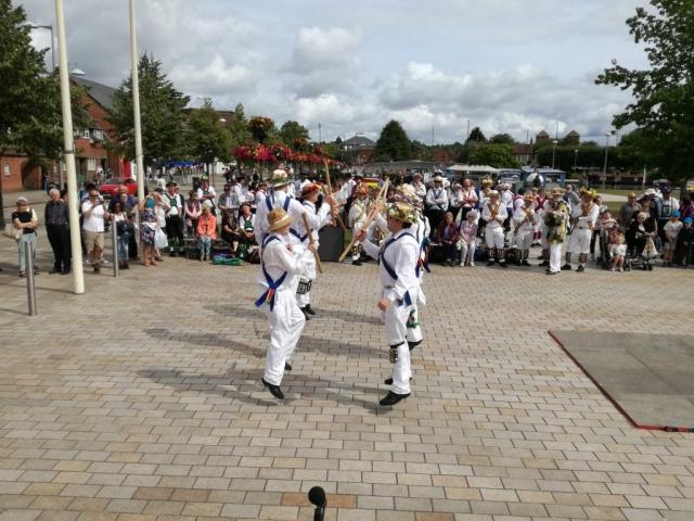Jockey off the ground in Stratford upon Avon