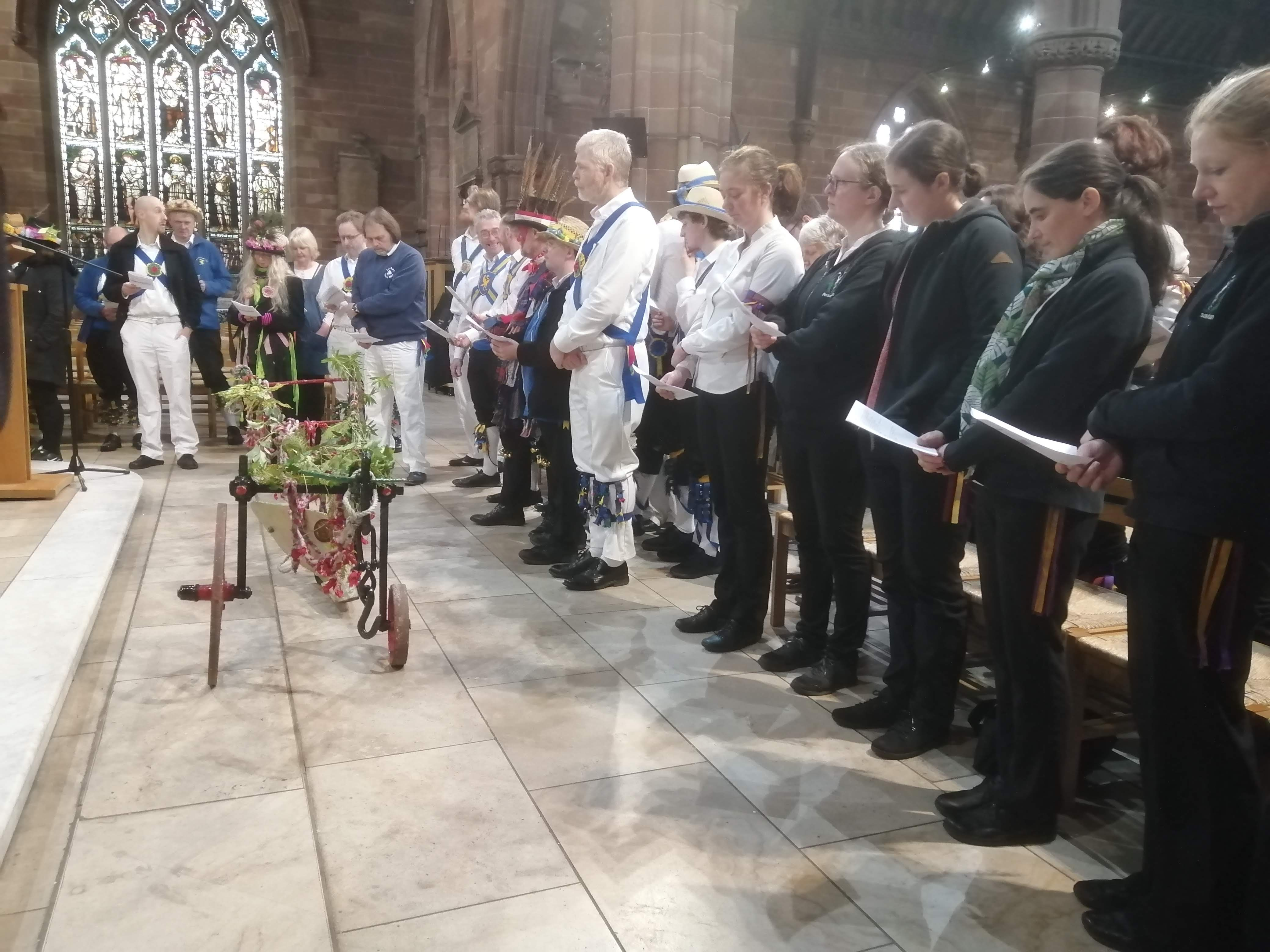 Plough Tour - in St. Martin's Church