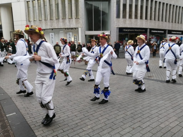 Plough Tour - Dancing at the Bottom of New St.