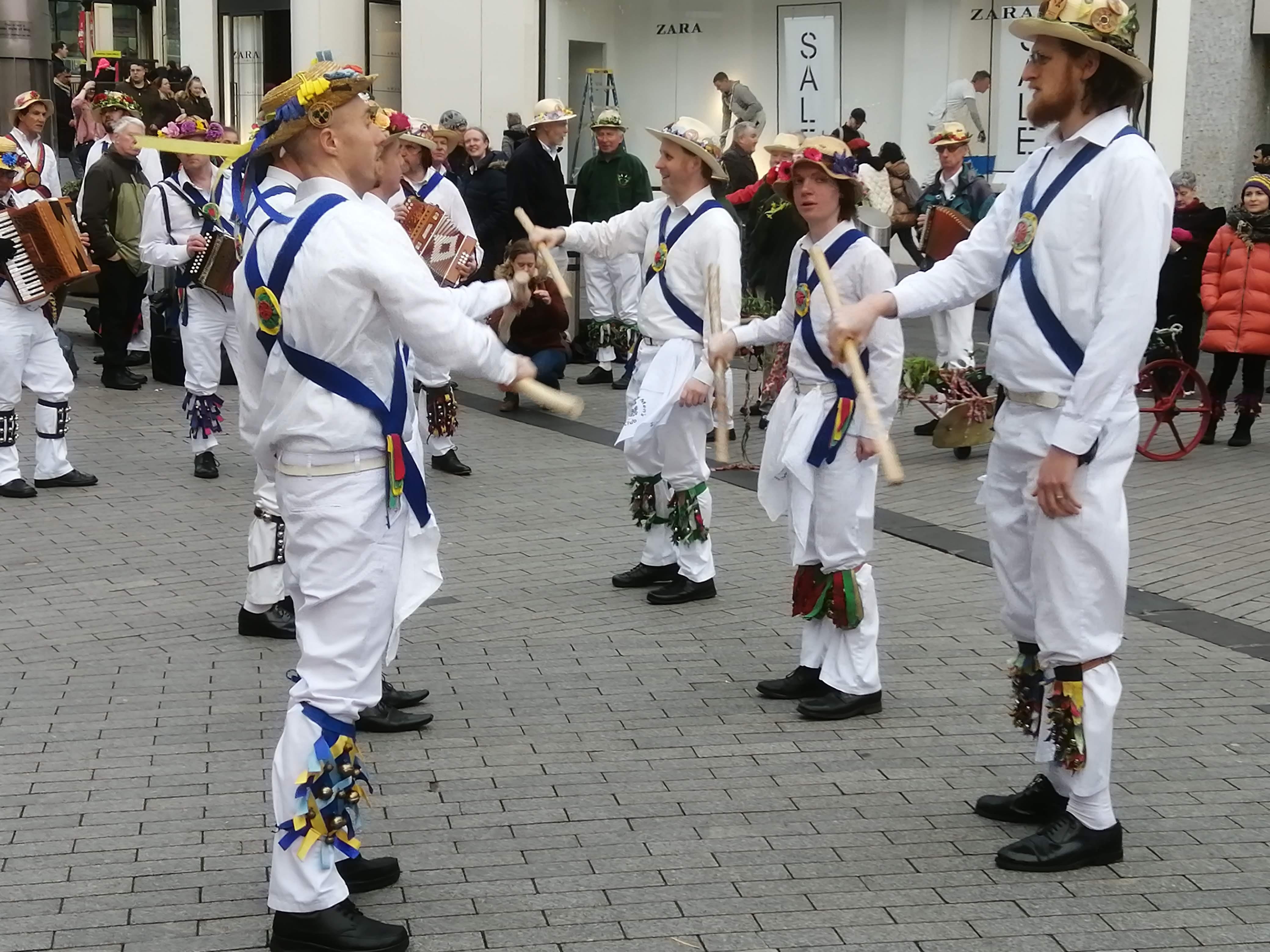Plough Tour - Dancing at the Bottom of New Street