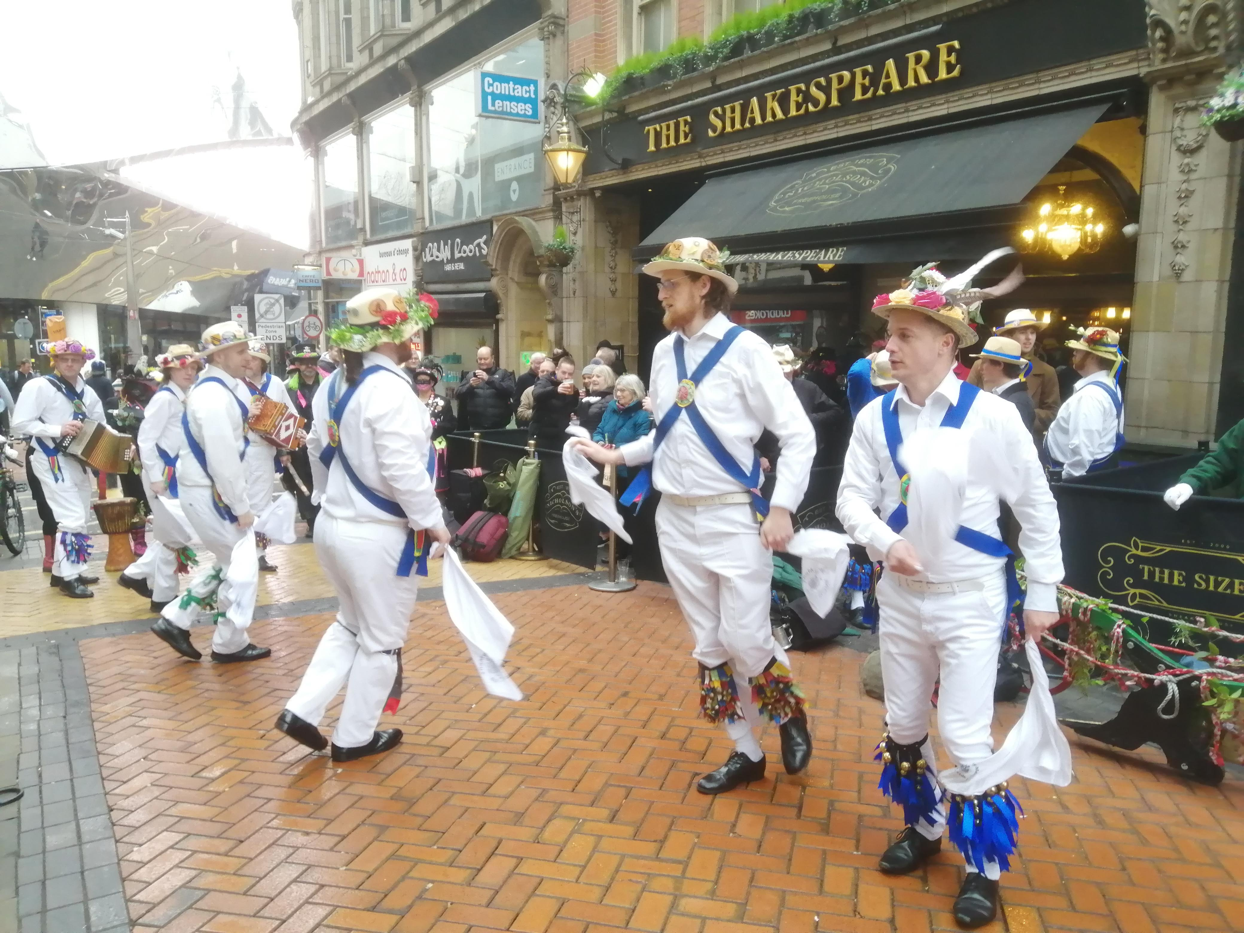 Plough Tour - Dancing in Lower Temple St.