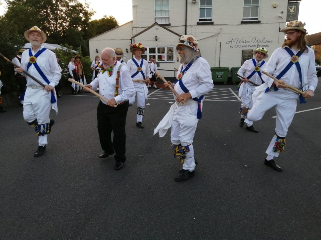 Dance Out with Shakespeare Morris - July 2021